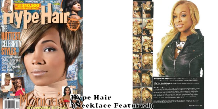 Hype Hair magazine collaborate.