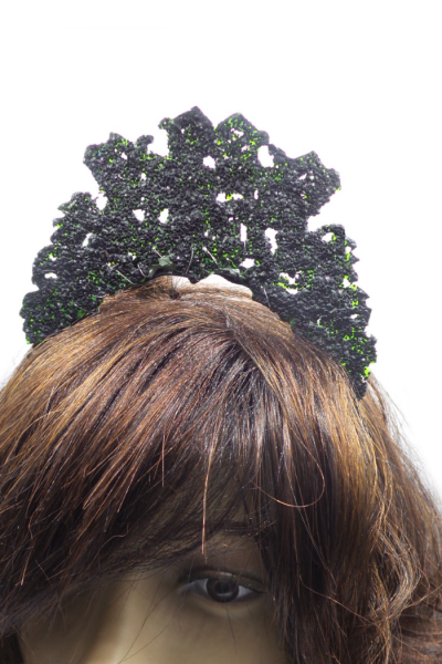 3d printed glitter crown