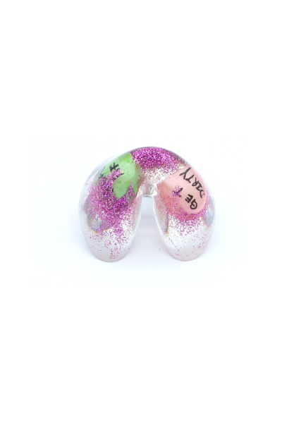 Kawaii fortune cookie ring