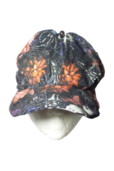 bones and skulls baseball cap front