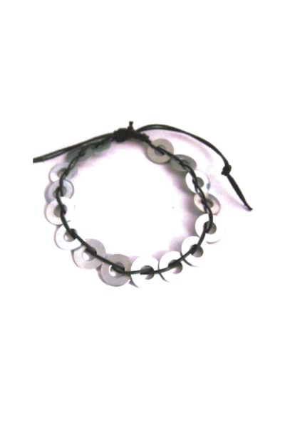 woven washer bracelet with no clasp